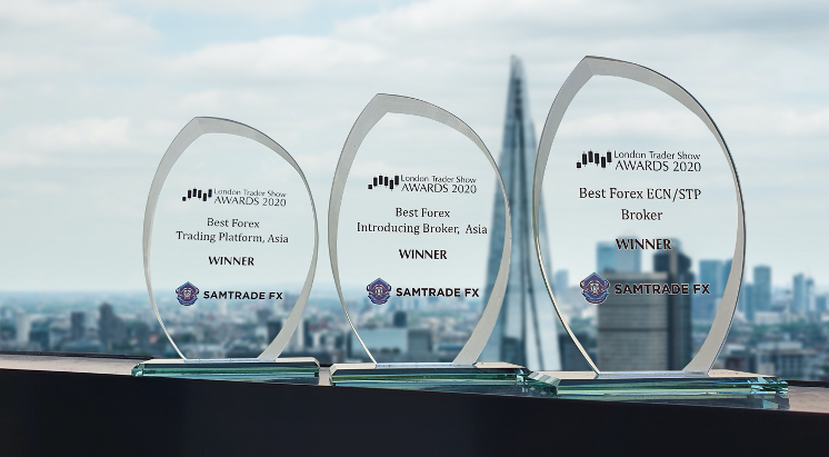 Samtrade FX Bagged Awards in Multiple Categories in London Trader Show 2020